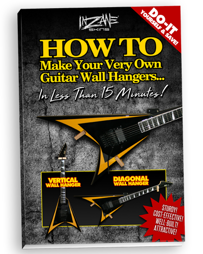 INZANE SKINS - HOW TO Make Your Very own Guitar Wall Hangers