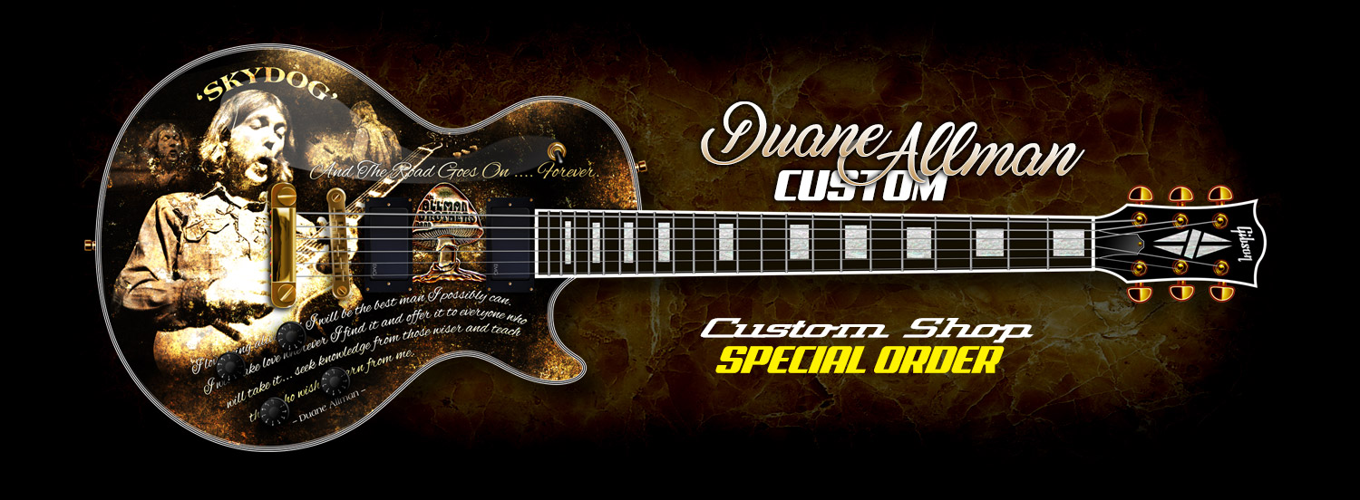 Custom shop for creating the ultimate guitar